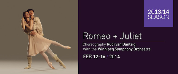 Romeo + Juliet - Royal Winnipeg Ballet