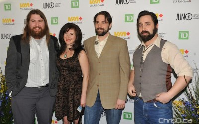 Juno Nominees, Music Industry Mingle at Human Rights Museum