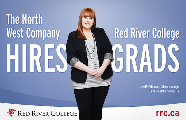 Red River College Grad Billboard