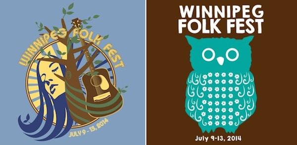 Winnipeg Folk Festival T-shirts