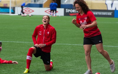 Canada Ready for U.S. Rivals in Women's Soccer Friendly