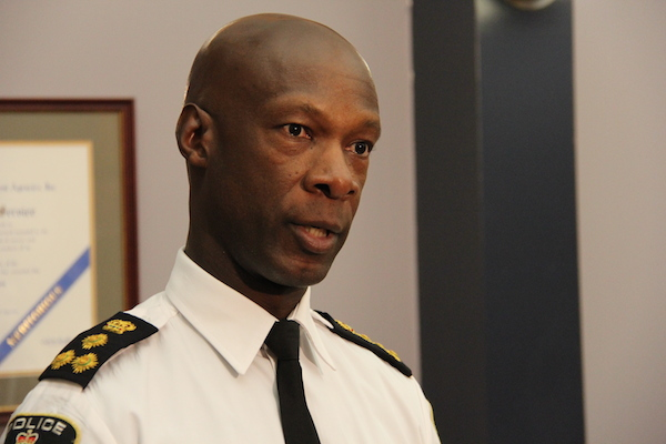 Winnipeg Police Chief Devon Clunis