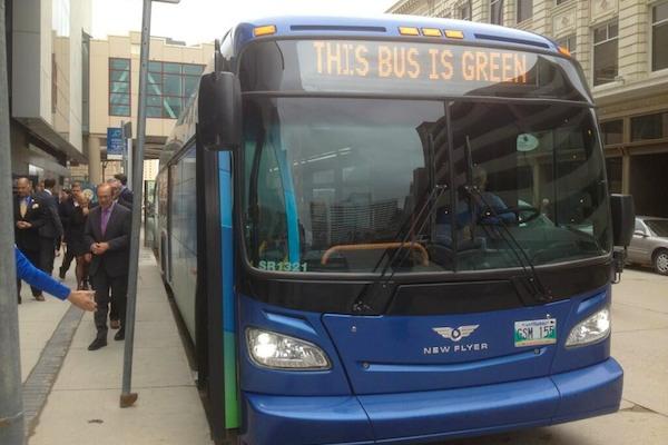 Electric Bus - Winnipeg Transit