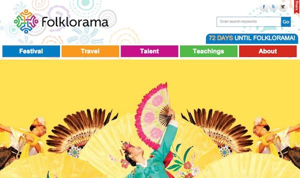 Folklorama Website