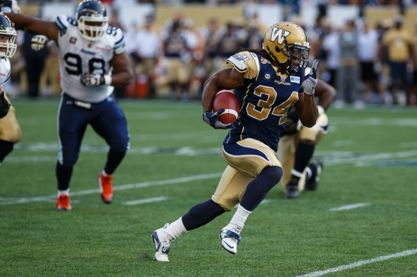 Paris Cotton - Winnipeg Blue Bombers