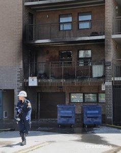 Sargent Avenue Apartment Fire