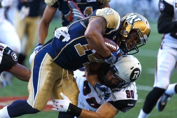 Aaron Woods - Winnipeg Blue Bombers