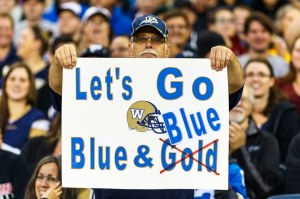 Winnipeg Blue Bombers Fan