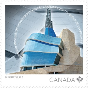 Canadian Museum for Human Rights Stamp