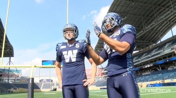 Drew Willy - Jason Vega - Winnipeg Blue Bombers