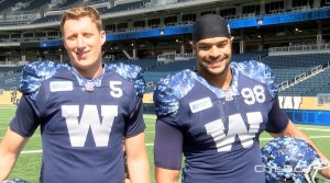 Winnipeg Blue Bombers Uniforms