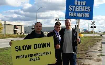 Gord Steeves Takes It to the Streets