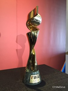 FIFA Women's World Cup Canada 2015 Trophy