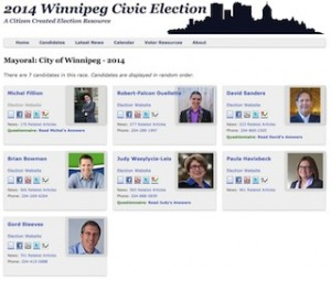 Winnipeg Election