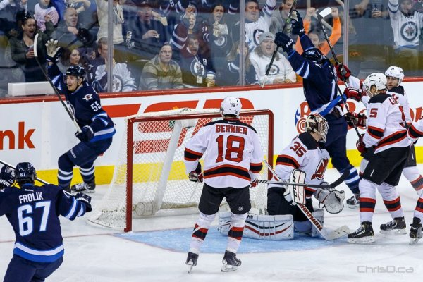 Winnipeg Jets - New Jersey Devils