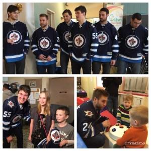 Winnipeg Jets - Rehabilitation Centre for Children
