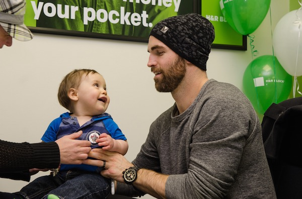 Andrew Ladd - Baby