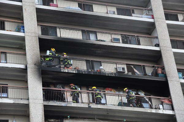 Westwood Apartment Fire