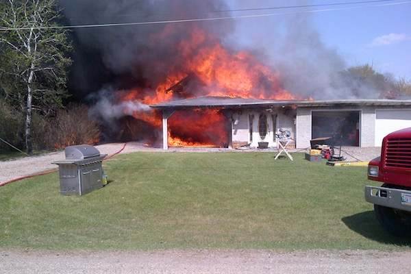 Binscarth Fire