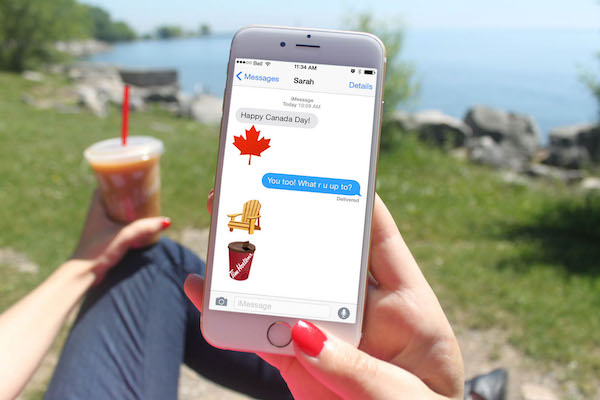 Canadian Emoji Keyboard