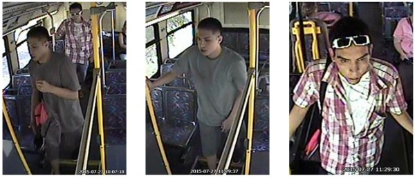 Bus Robbery Suspects