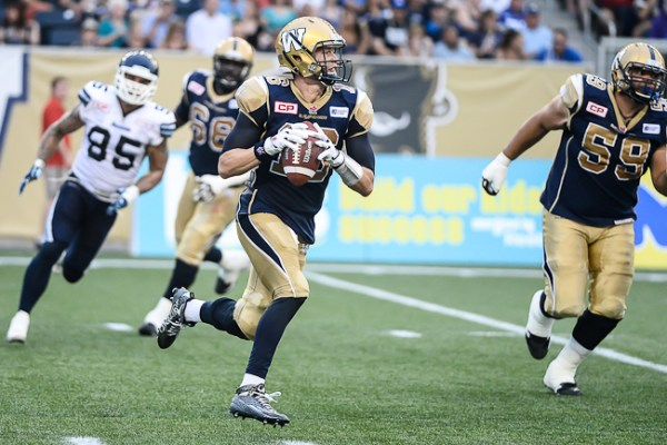Robert Marve - Winnipeg Blue Bombers