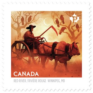 Haunted Canada Stamp