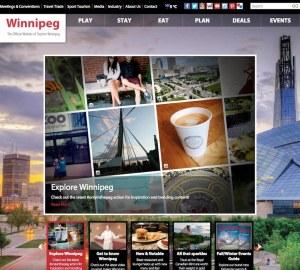 Tourism Winnipeg Website