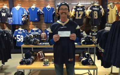 Man Claims $178K Grey Cup 50/50 Ticket
