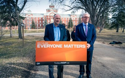 NDP Pledge Two New Soccer Pitches in Brandon