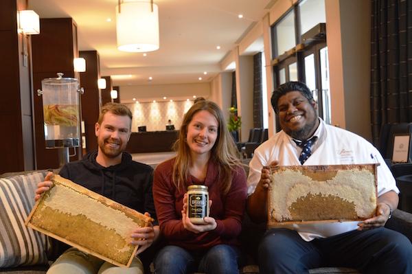 Fairmont Winnipeg Bee Project