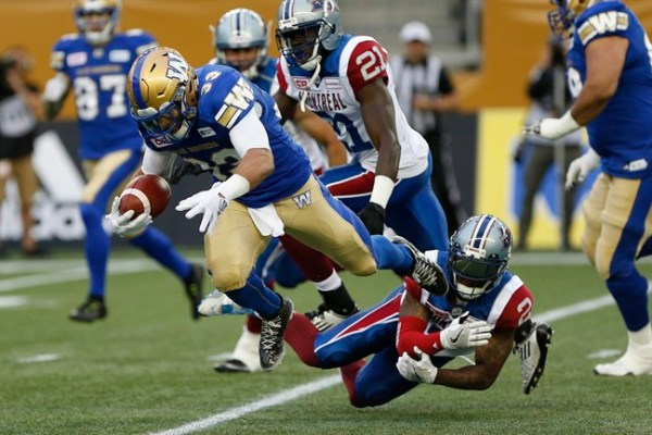 Andrew Harris - Winnipeg Blue Bombers