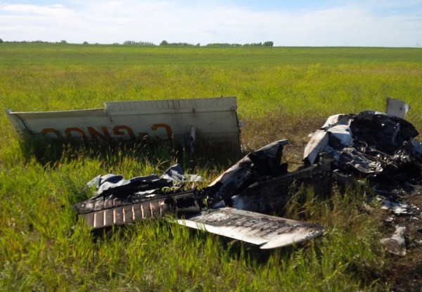 Plane Crash - Perimeter Highway