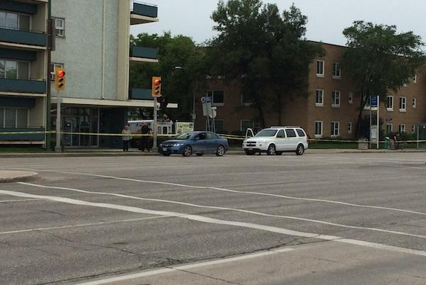 Portage Avenue - Pedestrian Crash