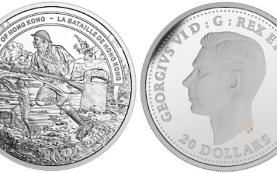 Mint Issues Coin to Commemorate 75th Anniversary of Battle of Hong Kong
