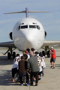 U of M Bisons - United Way Plane Pull