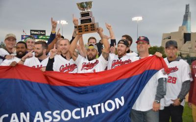 Winnipeg Goldeyes Bring Back Championship Hardware for Hometown Celebration