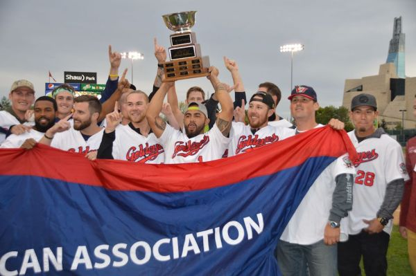 Winnipeg Goldeyes Champions
