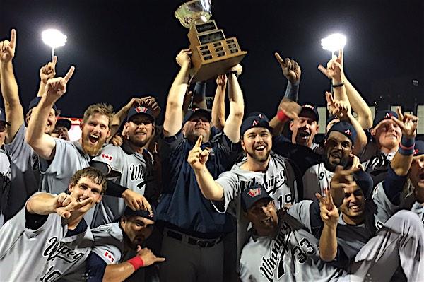 Winnipeg Goldeyes - Champions