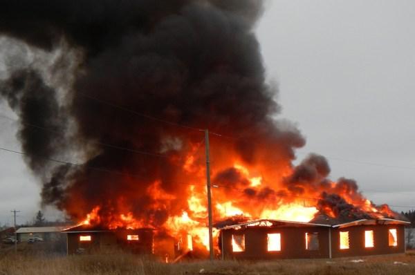 Garden Hill First Nation Fire