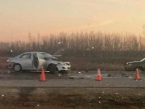 Perimeter Highway Crash