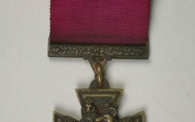 Victoria Cross on Display at Manitoba Museum