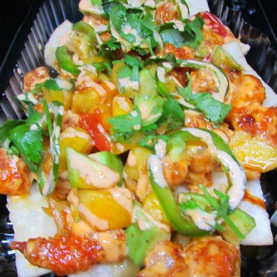 Hawaiian Shrimp Tacos