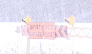 Highway 75 - Snow