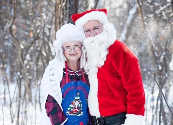Santa - Mrs. Claus