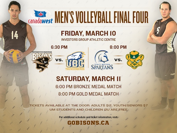 Bisons Volleyball Final Four