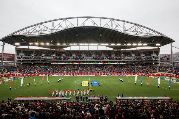 FIFA Soccer - Investors Group Field