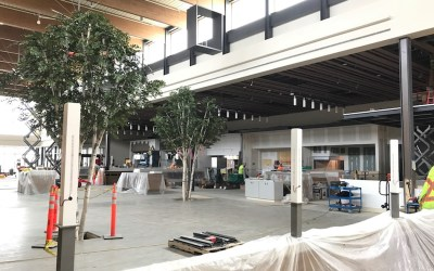 Construction in Overdrive at Outlet Collection Winnipeg