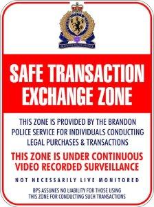 Brandon Police - Safe Transaction Exchange Zone
