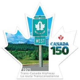 Canada 150 Stamp